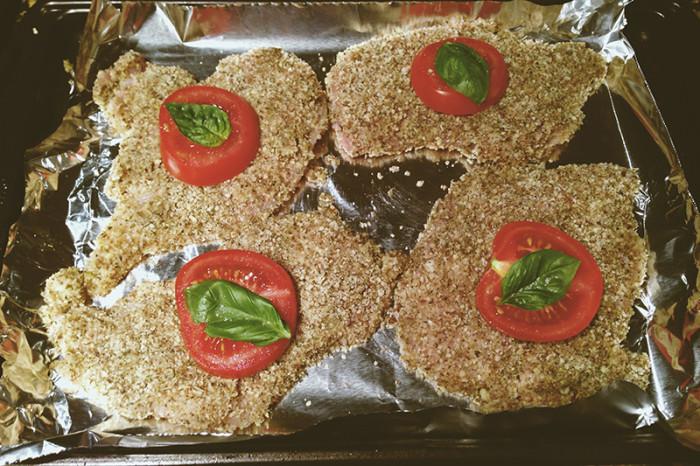 Uncooked Paleo Chicken Milanese